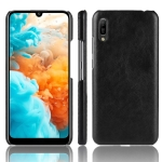 Shockproof Litchi Texture PC + PU Protective Case for Huawei Y6 Pro (2019) (Black)