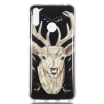 Deer Pattern Noctilucent TPU Soft Case for Huawei Y7 Pro(2019)