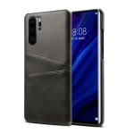 Suteni Calf Texture Protective Case for Huawei P30 Pro, with Card Slots (Black)