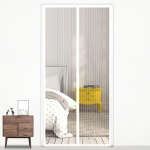 Magic Mesh Magnetic Mosquito-proof Screen Door Curtain, Size:210x100cm (White)