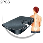 2 PCS Seat Solution Slow Rebound Memory Cushion Sitting Posture Correction Cushion Office Chair Cushion