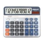 OSALO OS-6815 12 Digits Desktop Calculator Solar Energy Dual Power Calculator