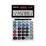 OSALO OS-20TV 12 Digits Desktop Tax Rate Calculator Solar Energy Dual Power Calculator