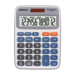 OSALO OS-2M 12 Digits Desktop Calculator Solar Energy Dual Power Calculator