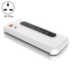 Household Commercial Food Vacuum Plastic Packaging Machine Sealer Closer Machine, UK Plug(White)