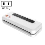 Household Commercial Food Vacuum Plastic Packaging Machine Sealer Closer Machine, US Plug (White)