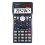 OSALO OS-991MS 10+2 Digits Double Line Display Multi-functional Student Function Scientific Calculator Solar Energy Dual Power Calculator