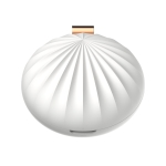 Y2 DC 5V 0.3A Shell Shape Mini Portable Mobile Household Car Air Purifier Aromatherapy Machine (White)