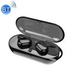 TWS Binaural Wireless Touch Sensing Bluetooth Headset (Black)