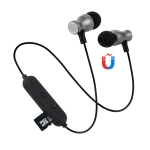 F11 Bluetooth 4.2 Hanging Neck Design Bluetooth Headset, Support Music Play & Switching & Volume Control & Answer (Black)