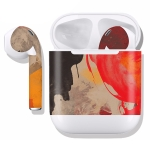 DRAP-506 Airpods Earphones Full Coverage Sticker Earphone Box Anti-lost Protective Film