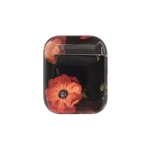 Flower Pattern Dropproof Wireless Earphones Charging Box Protective Case for Apple AirPods