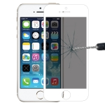9H 6D Anti-glare Tempered Glass Film for iPhone 6 / 6s (White)