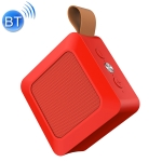 SARDiNE A12 Outdoor Wireless Bluetooth Speaker with Microphone, Support Hands-free Answering Phone & FM radio & TF card (Red)