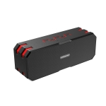 SARDiNE F4 Multi-function Wireless Bluetooth Speaker with Microphone , Support Hands-free Answering Phone & FM Radio & TF Card (Red)