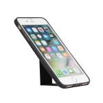 Full Coverage Shockproof Case for iPhone 8 Plus & 7 Plus with Holder (Black)