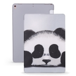 Panda Pattern Horizontal Flip PU Leather Case for iPad Air 2019 / Pro 10.5 inch, with Three-folding Holder & Honeycomb TPU Cover