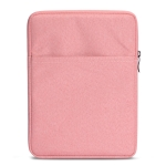 Shockproof Canvas + Space Cotton + Plush Protective Bag for iPad Air 10.5 inch 2019 (Pink)
