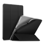 ESR Yippee Color Rebound Series Slim Fit Leather + Soft TPU Case for iPad Air 2019 10.5 inch, with Three-folding & Sleep / Wake-up Function (Black)