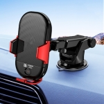 JOYROOM JR-ZS187 Speedy Series Car Air Vent Instrument Console Intelligent Bracket Holder (Red)