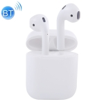 Mi12 TWS Binaural Calls Wireless Bluetooth 5.0 Earphones with Charging Case, Support Auto Pairing (White)