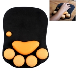 MONTIAN Cat Claw Shape Slow Soft Bracer Non-slip Silicone Mouse Pad