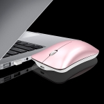 HXSJ T23F Bluetooth + 2.4GHz Wireless Dual Modes 4-Keys 1600 DPI Adjustable Ergonomics Optical Mouse