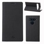 ViLi DMX Multifunctional Horizontal Flip Leather Case for LG V40 ThinQ, with Card Slot & Holder (Black)