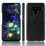 Shockproof Litchi Texture PC + PU Protective Case for LG V50 ThinQ 5G (Black)