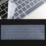 Keyboard Protector TPU Film for MacBook Pro 13 / 15 with Touch Bar (A1706 / A1989 / A1707 / A1990) (White)