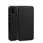 OCUBE Spring Texture Horizontal Flip Leather Case for Doogee Y8, with Holder (Black)