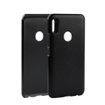 Litchi Texture PC Back Case for UMIDIGI F1 Play (Grey)