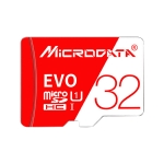 MICRODATA 32GB High Speed U3 Red and White TF(Micro SD) Memory Card
