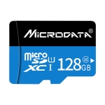 MICRODATA 128GB U1 Blue and Black TF(Micro SD) Memory Card