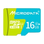 MICRODATA 16GB U1 Blue and Green TF(Micro SD) Memory Card