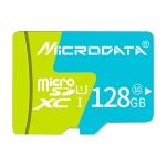 MICRODATA 128GB U1 Blue and Green TF(Micro SD) Memory Card