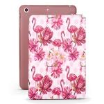 Flamingo Pattern Horizontal Flip PU Leather Case for iPad mini 3 / 2 / 1, with Three-folding Holder & Honeycomb TPU Cover