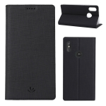 ViLi DMX Multifunctional Horizontal Flip Leather Case for Motorola One Power (P30 Note), with Card Slot & Holder (Black)