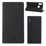 ViLi DMX Multifunctional Horizontal Flip Leather Case for Motorola One Power (P30 Note), with Card Slot & Holder (Black)