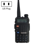 BaoFeng BF-F8HP 8W Dual Band Two-Way Radio VHF UHF Handheld Walkie Talkie, US Plug(Black)