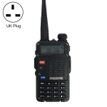BaoFeng BF-F8HP 8W Dual Band Two-Way Radio VHF UHF Handheld Walkie Talkie, UK Plug(Black)