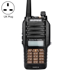 BaoFeng BF-UV9Rplus 16W Waterproof Dual Band Radio Handheld Antenna Walkie Talkie, UK Plug