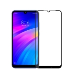 MOFI 9H 2.5D Full Screen Tempered Glass Film for Xiaomi Redmi 7(Black)