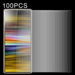 100 PCS 0.26mm 9H 2.5D Tempered Glass Film for Sony Xperia 10 Plus