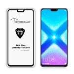 MIETUBL Full Screen Full Glue Anti-fingerprint Tempered Glass Film for Huawei Honor 8X (Black)