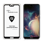 MIETUBL Full Screen Full Glue Anti-fingerprint Tempered Glass Film for Huawei Honor 9i (Black)