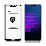 MIETUBL Full Screen Full Glue Anti-fingerprint Tempered Glass Film for Huawei Honor Play (Black)