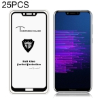 25 PCS MIETUBL Full Screen Full Glue Anti-fingerprint Tempered Glass Film for Huawei Honor Honor Play (Black)