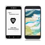 MIETUBL Full Screen Full Glue Anti-fingerprint Tempered Glass Film for Xiaomi Redmi Go (Black)