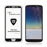 MIETUBL Full Screen Full Glue Anti-fingerprint Tempered Glass Film for Motorola Moto G6 Plus (Black)